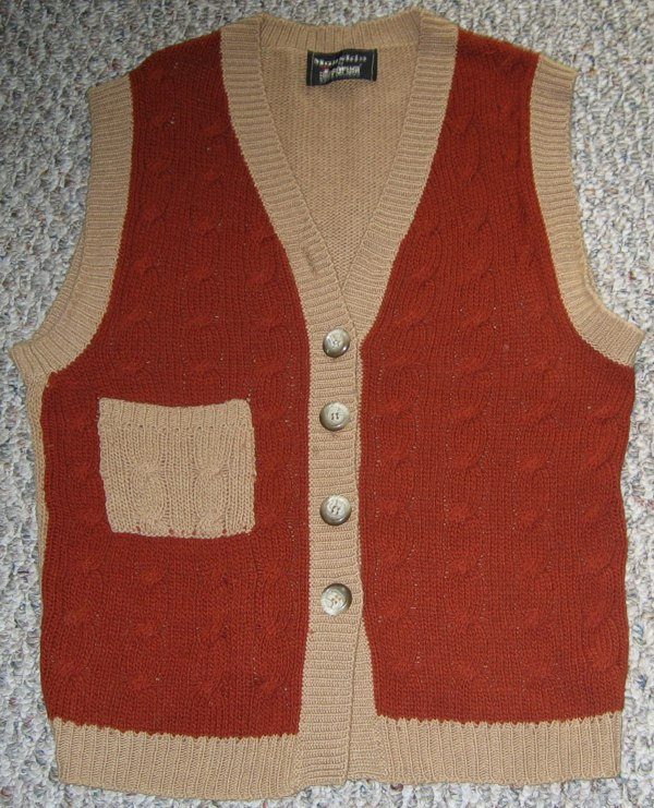 Short Stuff Sweater Vest by Michael Elkan