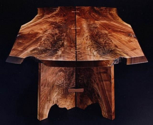 Butterfly's Shadow Table with natural detail &